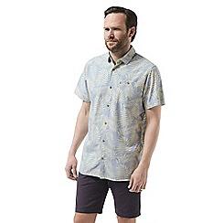 Craghoppers - Blue palmer short sleeved shirt