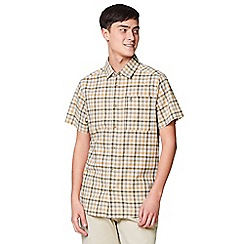 Craghoppers - Green 'Holbrook' short sleeved check shirt