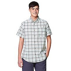 Craghoppers - Grey 'Holbrook' short sleeved check shirt