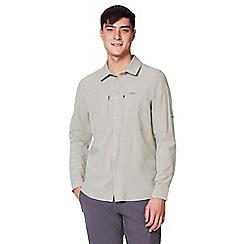 Craghoppers - Grey nosilife pro long sleeved shirt