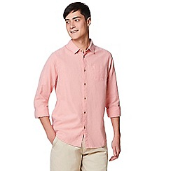 Craghoppers - Pink 'Porter' long sleeved shirt