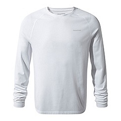 Craghoppers - white nosilife bayame long sleeved t-shirt