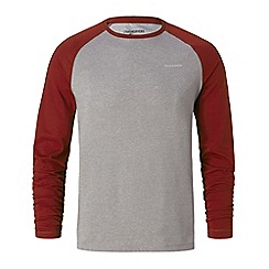 Craghoppers - Red nosilife bayame long sleeved t-shirt