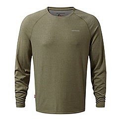 Craghoppers - Beige nosilife bayame long sleeved t-shirt