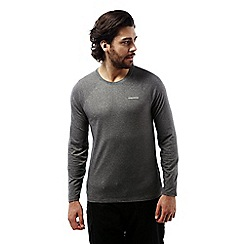 Craghoppers - Black pepper nosilife bayame long sleeved tee