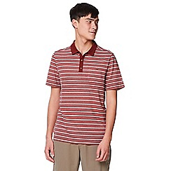 Craghoppers - Red nl 'Gilles' short sleeved polo shirts