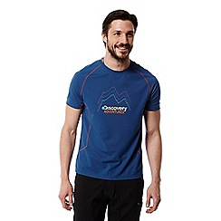 Craghoppers - Deep blue Discovery adventures short sleeved t-shirt