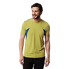 Craghoppers - Sulphur yellow fusion t-shirt