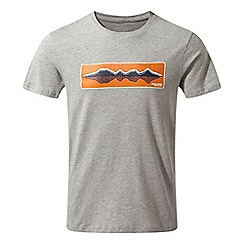 Craghoppers - Grey railton Short sleeved t-shirt