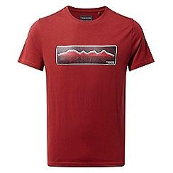 Craghoppers - Red railton Short sleeved t-shirt