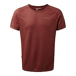 Craghoppers - Red nosilife short sleeved t-shirt