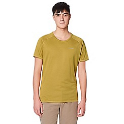 Craghoppers - Yellow nosilife short sleeved t-shirt