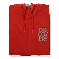 Craghoppers - Red discovery adventures hooded jacket