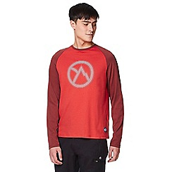 Craghoppers - Red discovery adventures long sleeved t-shirt
