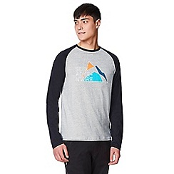 Craghoppers - Grey discovery adventures long sleeved t-shirt