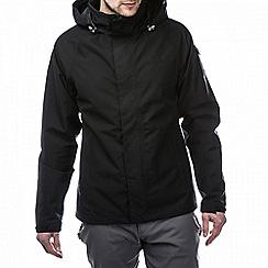 Craghoppers - Black aldwick gore-tex waterproof jacket
