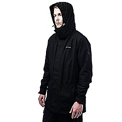 Craghoppers - Black ashton long gore-tex waterproof jacket