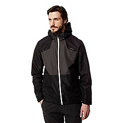 Craghoppers - Black/black pepper Apex lightweight waterproof jacket