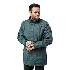 Craghoppers - Green 'Kiwi' long interactive waterproof jacket