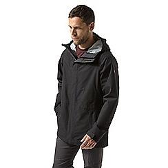 Craghoppers - Black 'Corran' gore-tex jacket