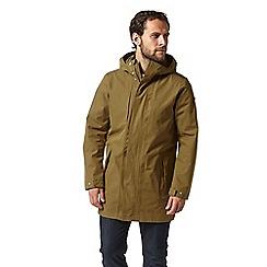 Craghoppers - Brown eoran waterproof jacket