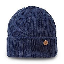 Craghoppers - Blue 'Dolan' knit hat