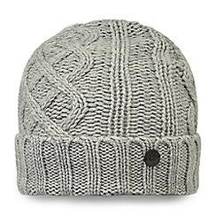 Craghoppers - Grey 'Dolan' knit hat