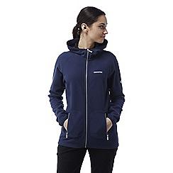 Craghoppers - Night blue Hazelton lightweight hooded fleece jacket