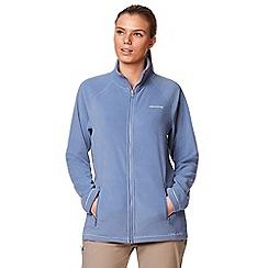 Craghoppers - Blue 'Seline' full zip fleece jacket