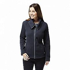 Craghoppers - Blue 'Callins' knit look fleece jacket