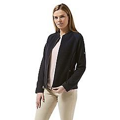 Craghoppers - Blue bella two tone fleece jacket