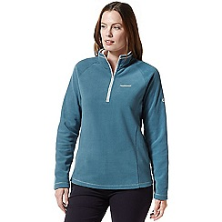 Craghoppers - Green miska half zip fleece