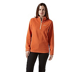 Craghoppers - Orange miska half zip fleece
