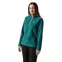 Craghoppers - Green miska half zip fleece