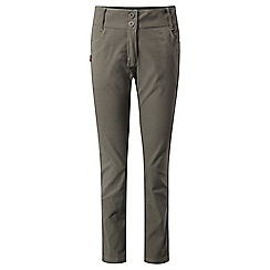 Craghoppers - Green nosilife 'Clara' cigarette pants - long length