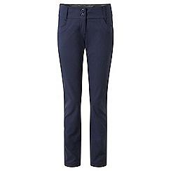 Craghoppers - Blue nosilife 'Clara' cigarette pants - long length