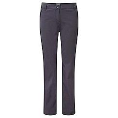 Craghoppers - Graphite kiwi pro stretch trousers - short leg length