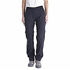 Craghoppers - Dark navy kiwi pro convertible trousers - long leg length