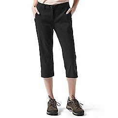Craghoppers - Black Kiwi pro crop trousers