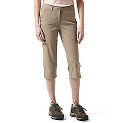 Craghoppers - Mushroom Kiwi pro crop trousers