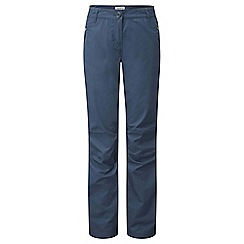 Craghoppers - Soft navy C65 walking trousers