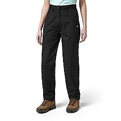 Craghoppers - Black classic Kiwi trousers - long length