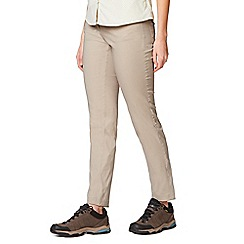 Craghoppers - Beige nosilife defence adventure trousers