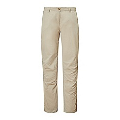 Craghoppers - Beige nosilife trousers - long length