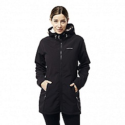 Craghoppers - Black 'Ingrid' waterproof hooded jacket