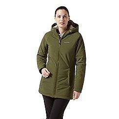 Craghoppers - Green 'Ingrid' waterproof hooded jacket