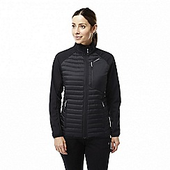 Craghoppers - Black 'Voyager' hybrid softshell jacket