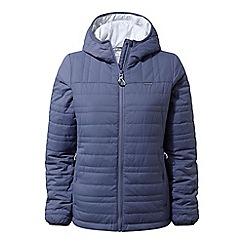 Craghoppers - Blue 'Compress lite' water-resistant jacket