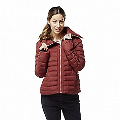 Craghoppers - Red 'Moina' lightweight insulating jacket