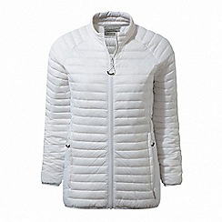 Craghoppers - White 'Venta' lite insulating jacket